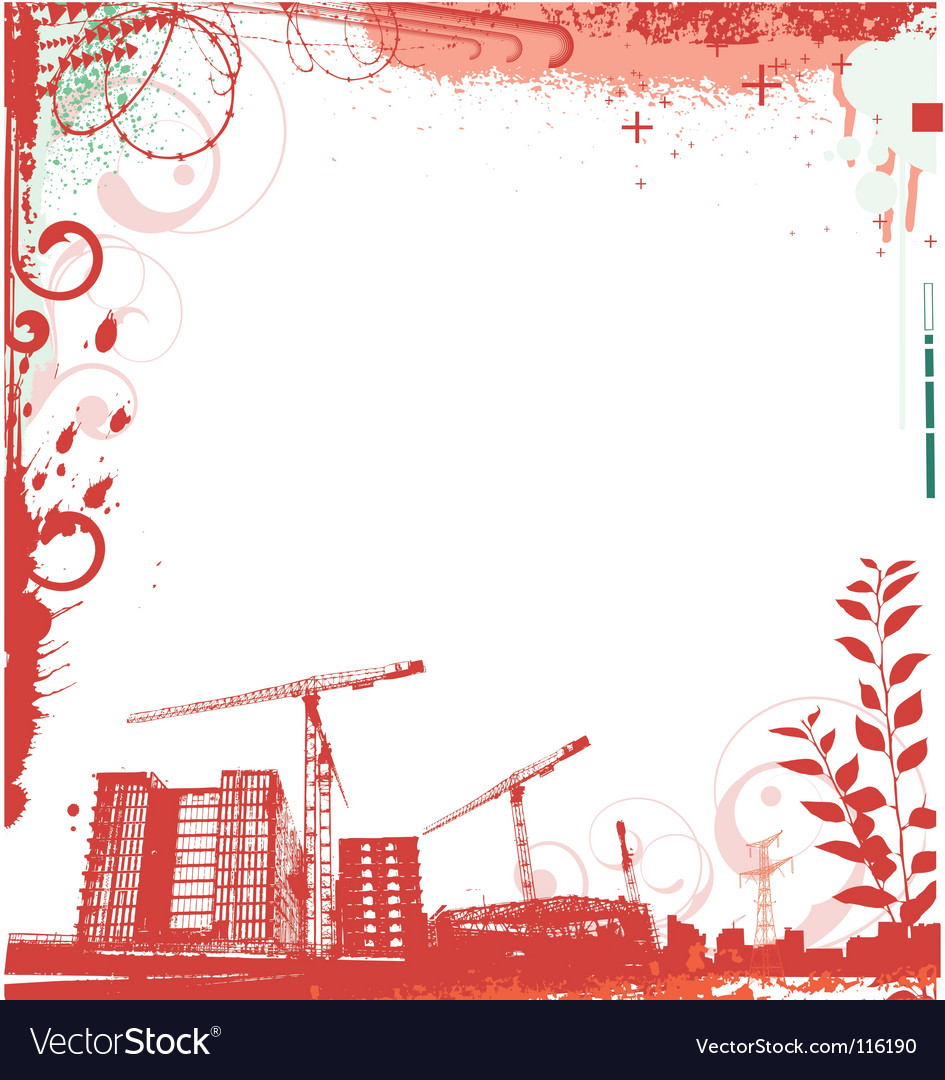 Urban frame vector | Price: 1 Credit (USD $1)