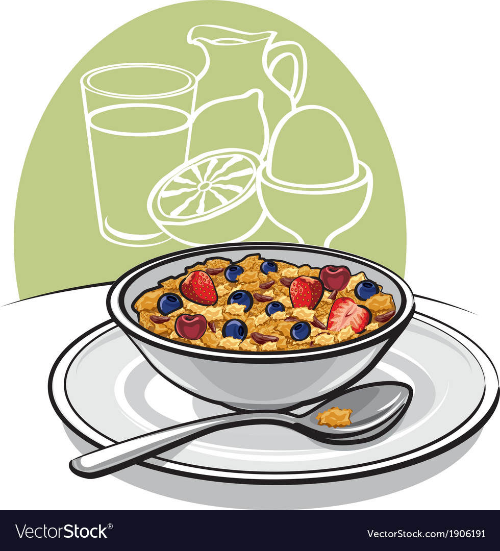 Healthy breakfast vector | Price: 1 Credit (USD $1)