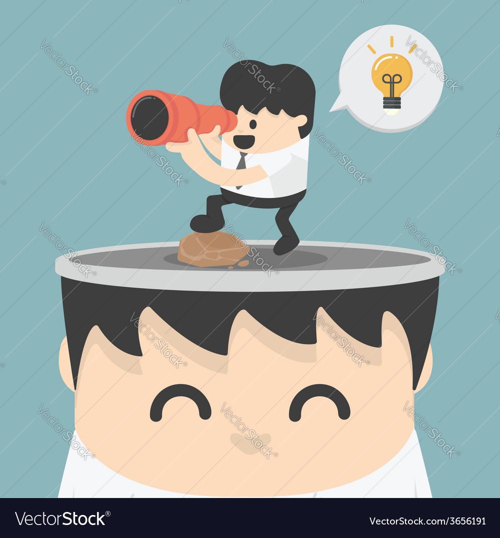 Look ideas vector | Price: 1 Credit (USD $1)