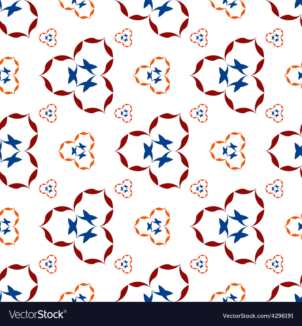 Pattern of colors on a white vector | Price: 1 Credit (USD $1)