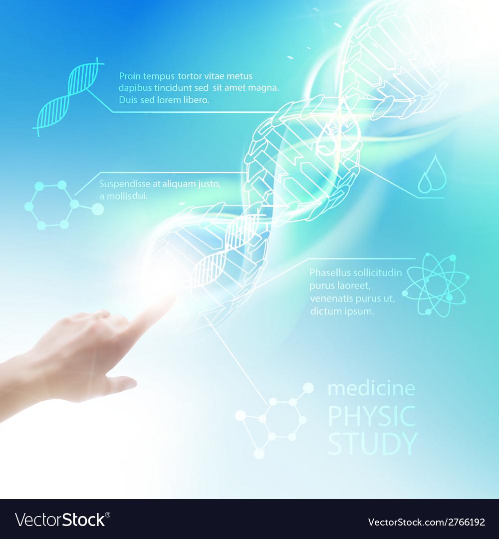 Biochemistry infographics vector | Price: 1 Credit (USD $1)
