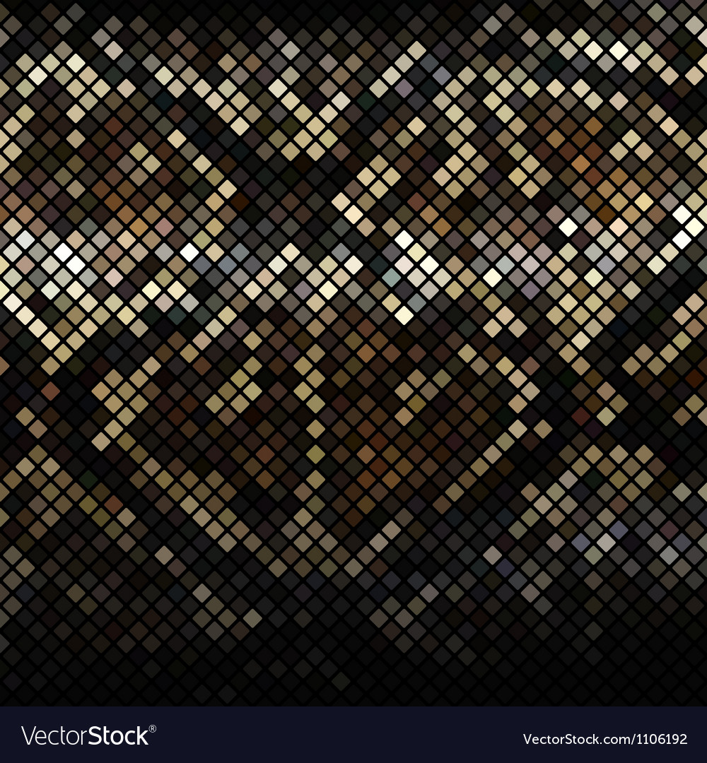 Mosaic snake skin vector | Price: 1 Credit (USD $1)