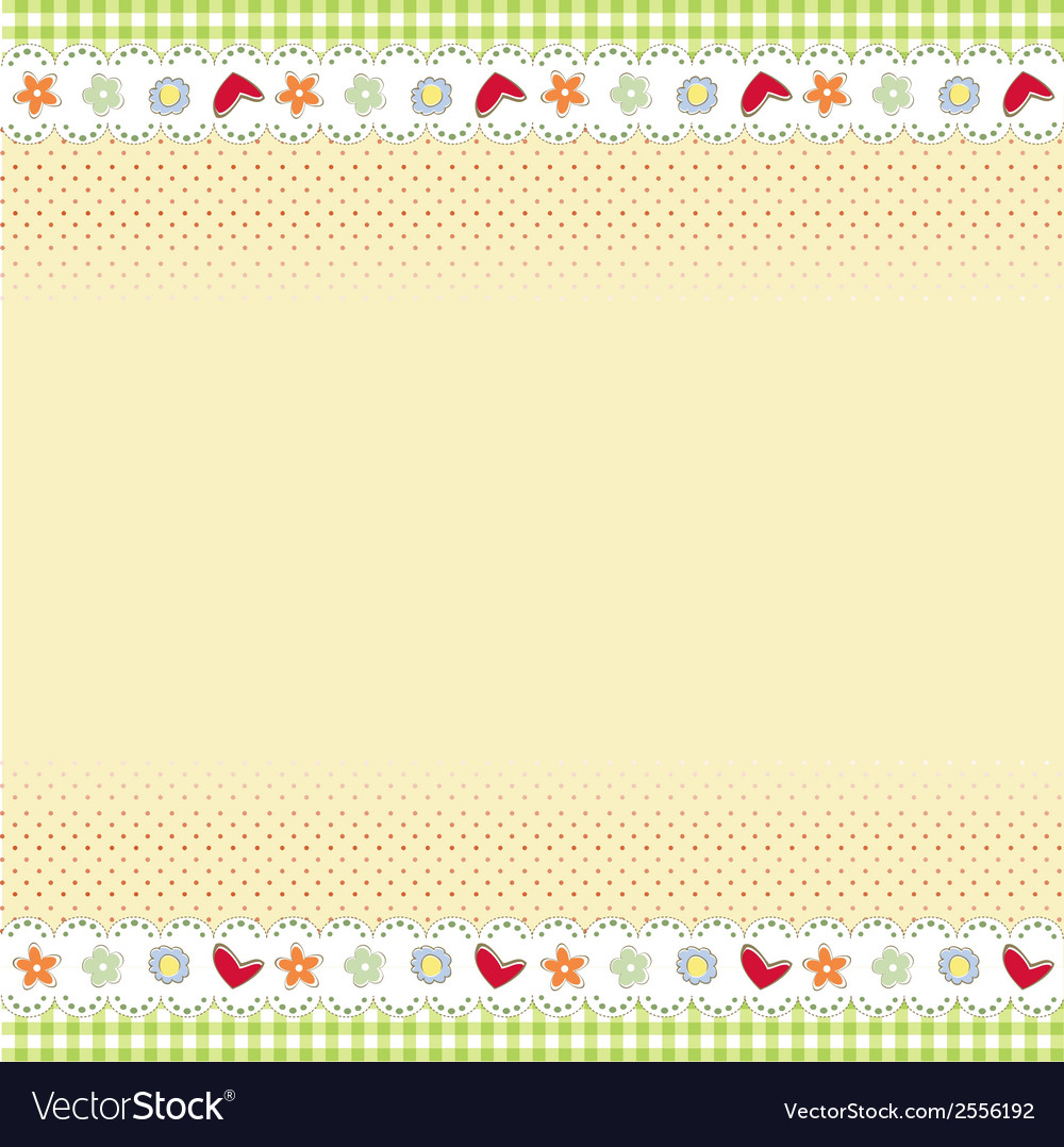 Template design for greeting card vector | Price: 1 Credit (USD $1)