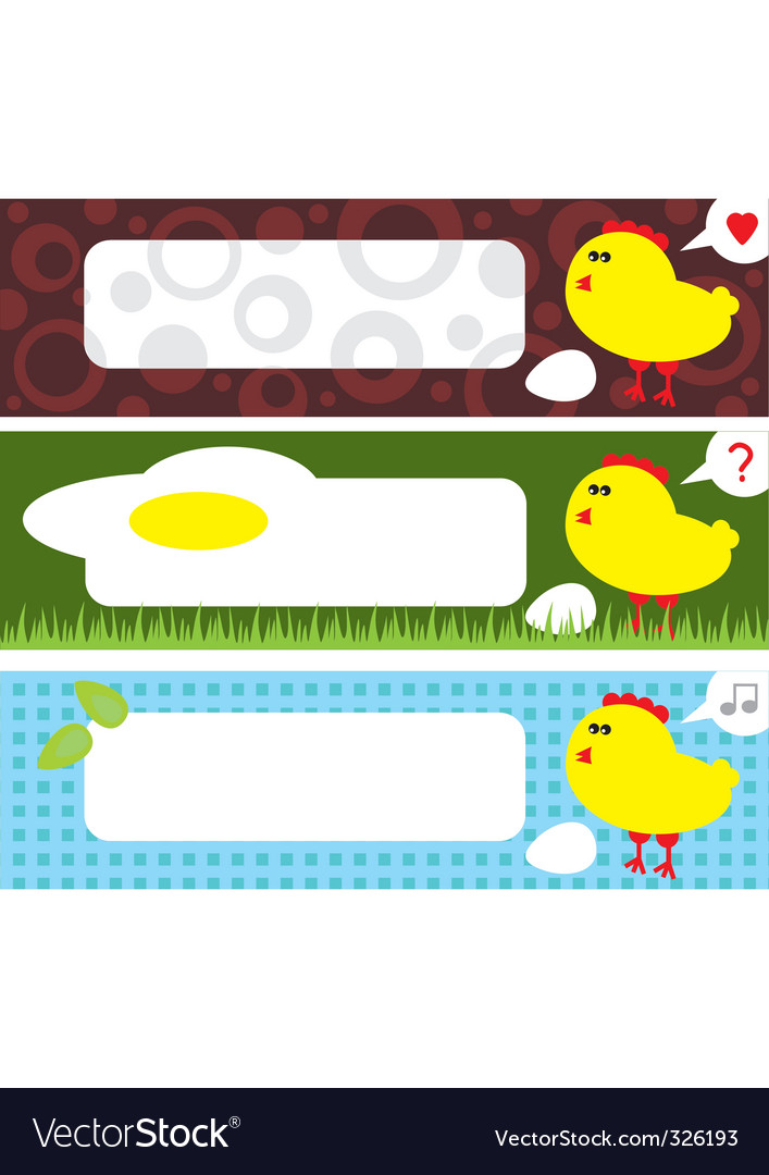 Chicken labels vector | Price: 1 Credit (USD $1)
