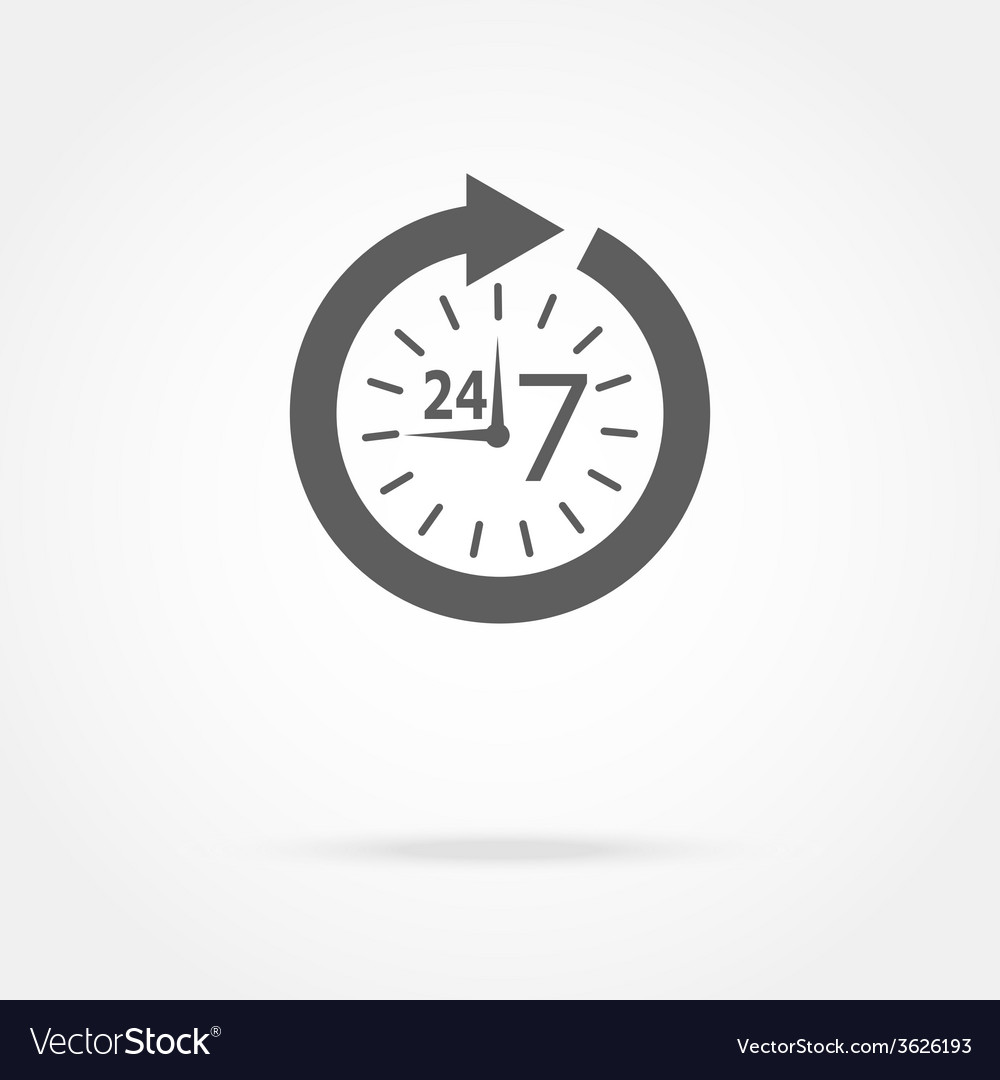 Opening hours vector | Price: 1 Credit (USD $1)