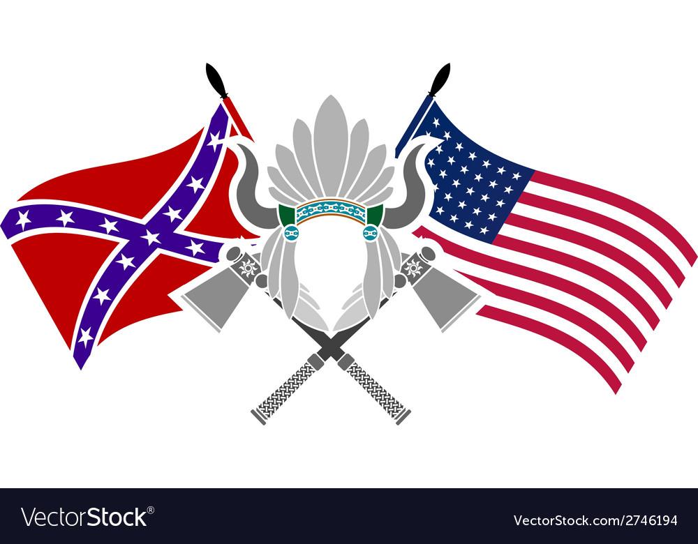 American civil war vector | Price: 1 Credit (USD $1)