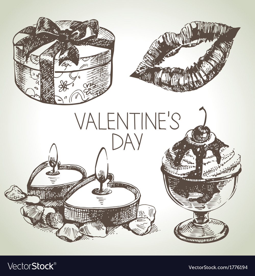 Set of valentines day vector | Price: 1 Credit (USD $1)