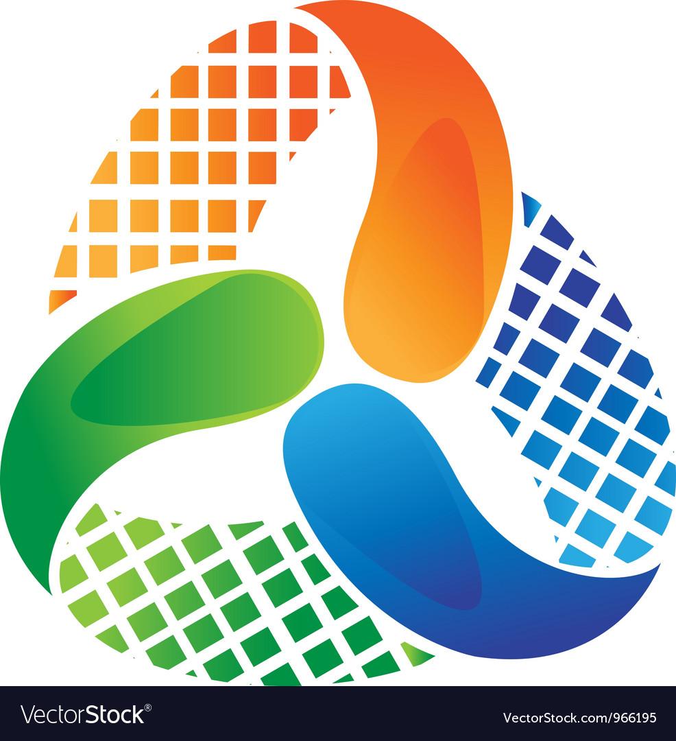 Abstract logo design vector | Price: 1 Credit (USD $1)