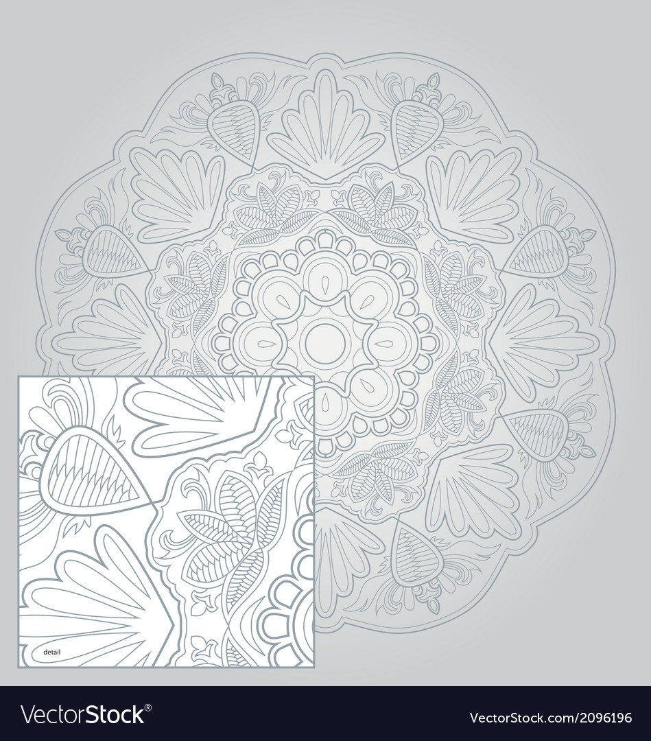 Floral and lace vector | Price: 1 Credit (USD $1)