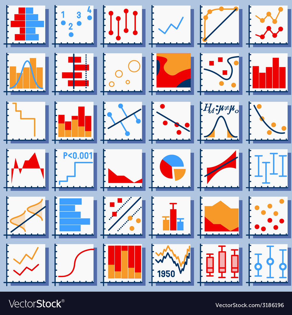 Stats element set vector | Price: 1 Credit (USD $1)