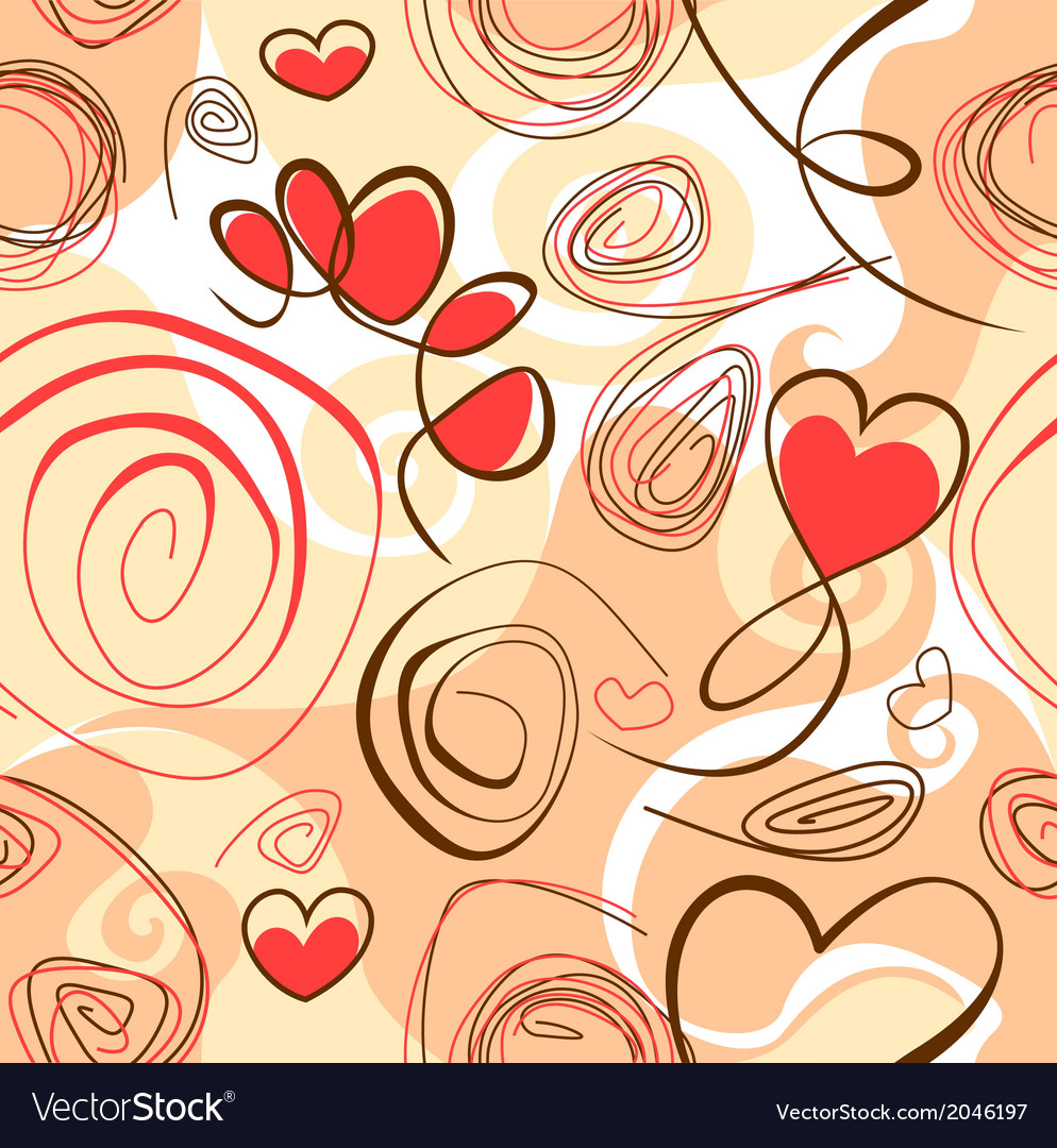Abstract background with heart shapes vector   Price: 1 Credit (USD $1)