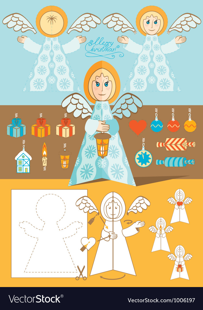 Angel toy vector | Price: 3 Credit (USD $3)