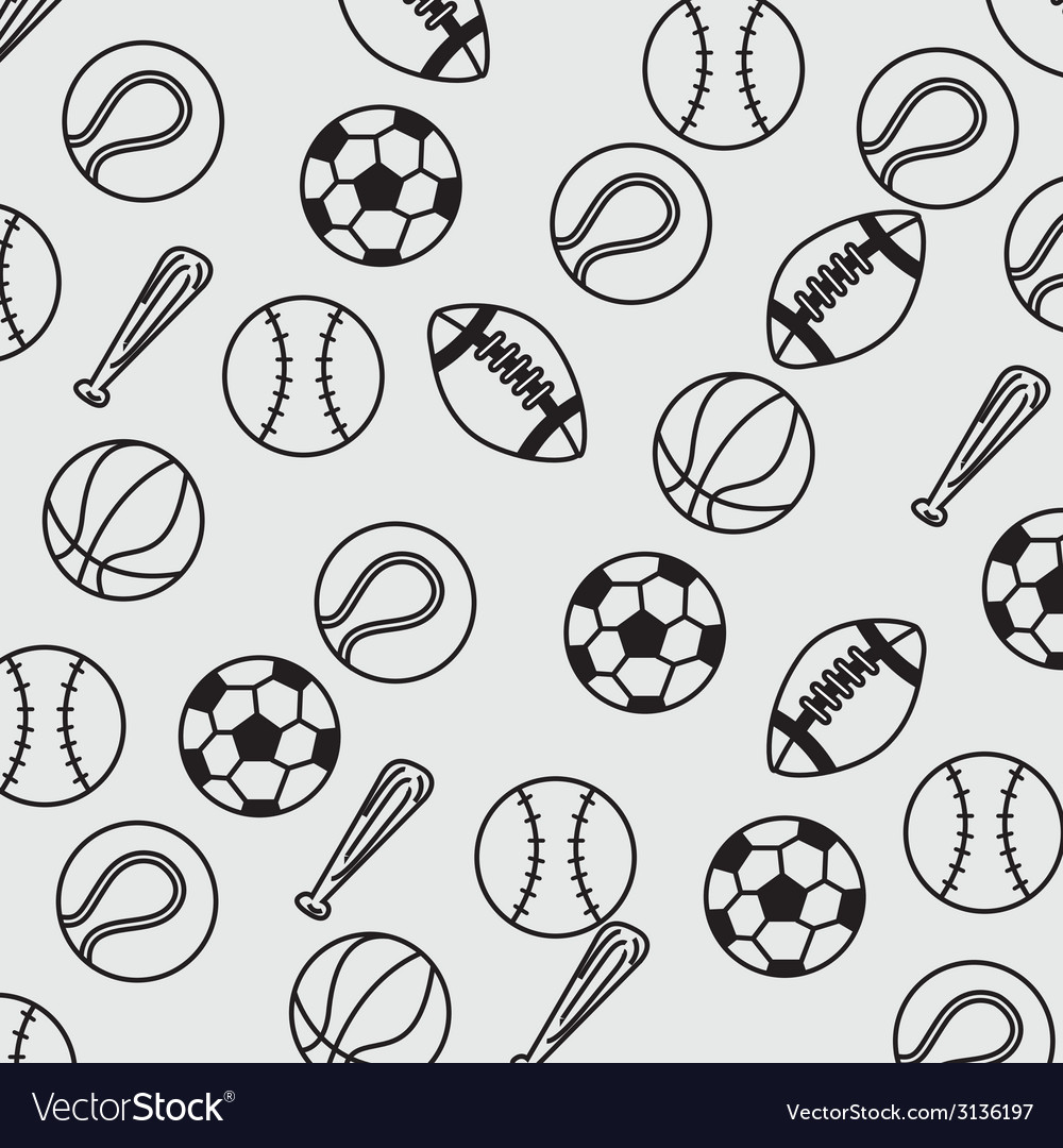 Balls sport design vector | Price: 1 Credit (USD $1)