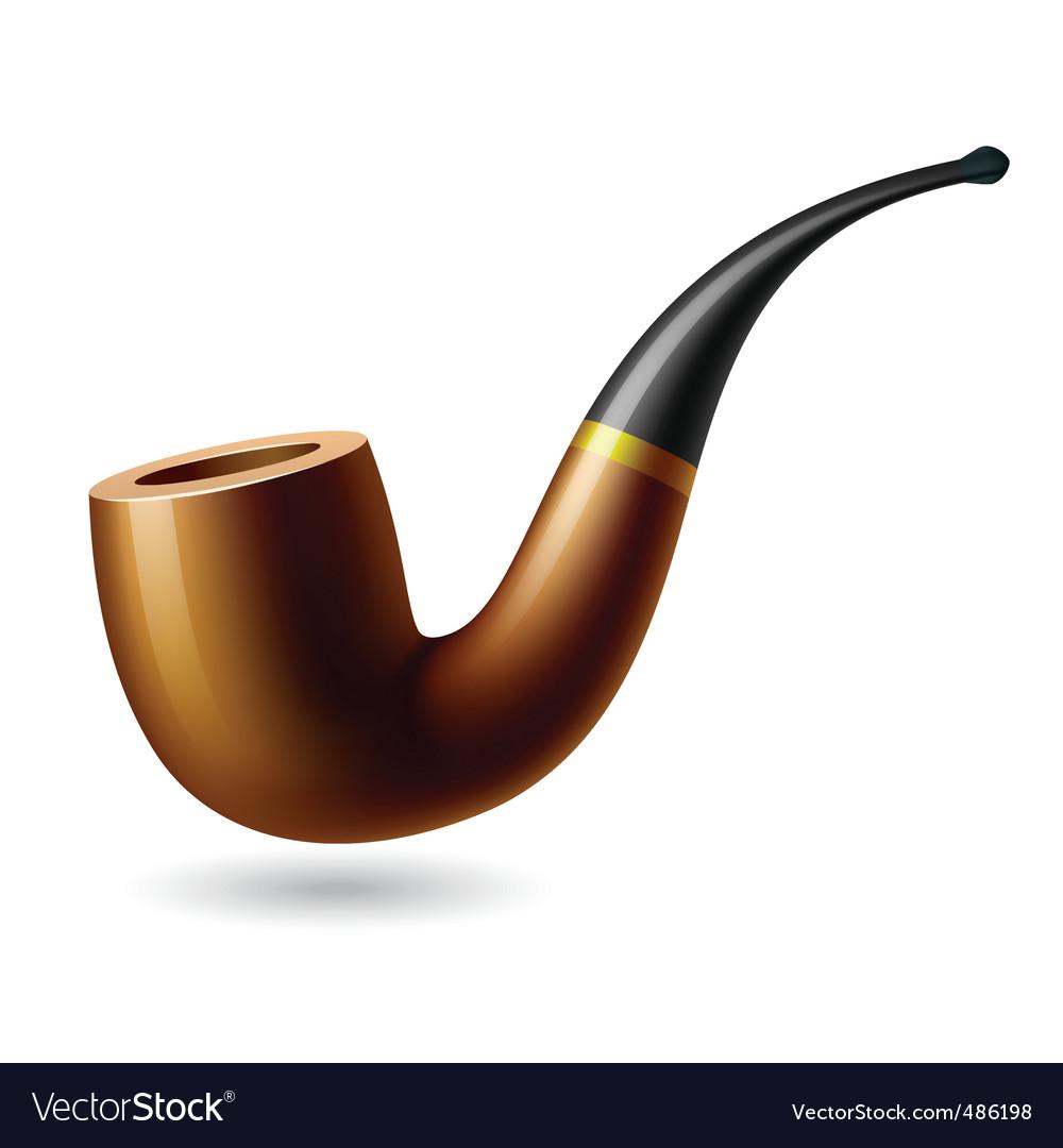 Tobacco pipe vector | Price: 3 Credit (USD $3)
