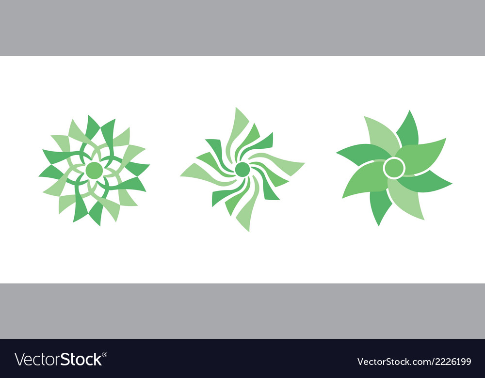 Color flowers vector | Price: 1 Credit (USD $1)