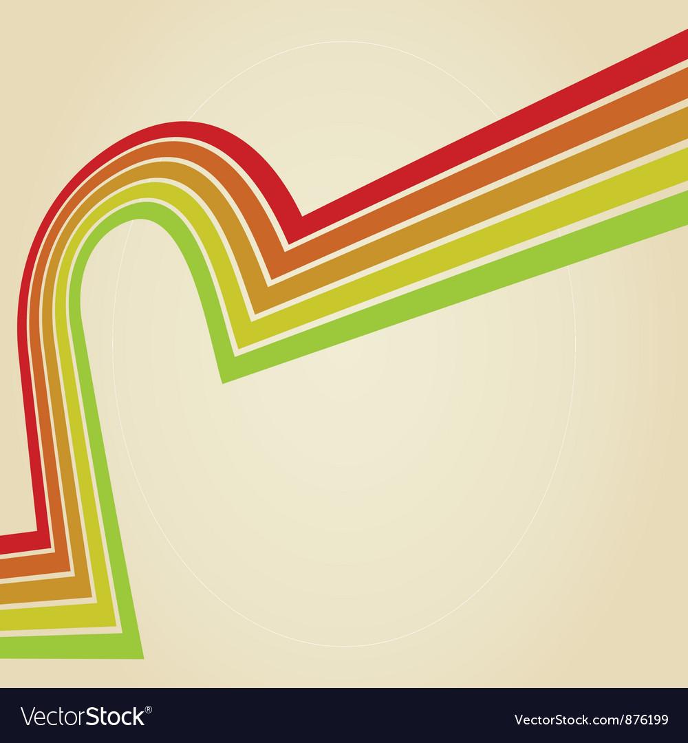 Line retro vector | Price: 1 Credit (USD $1)