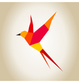 Red bird vector