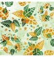 Floral leaves background vector