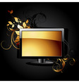 Web icon lcd panel vector
