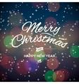 Merry christmas party design card vector