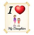 Daughter vector