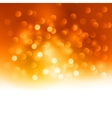Merry christmas orange light background vector