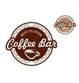 Coffee bar signs vector