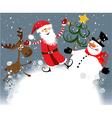 Christmas team vector