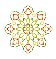 Rosette decorative vector