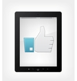 Set of tablet pc vector