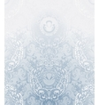 Seamless wallpaper pattern pale blue vector
