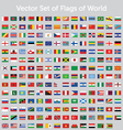 Set of flags of world vector