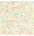 Colorful abstract doodle background vector