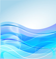 Water waves background vector