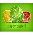 Easter eggs background 10 v vector