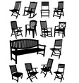 Al 0231 chairs vector