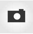 Camera web icon flat design vector