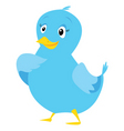 Tweet bird vector