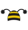 Bee cap vector