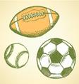 Us football ball base vector