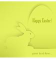 Easter eggs rabbits green shadow 10 v vector