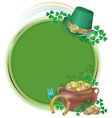 Saint patricks day card vector