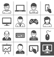 End-user devices vector