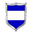 El salvador flag button vector