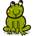 Frog animal cartoon vector