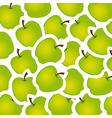 Apple stickers pattern vector