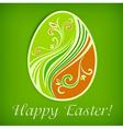 Happy easter eggs 10 v vector