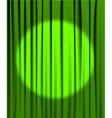Green curtain vector