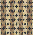 Geometric seamless parquet pattern vector