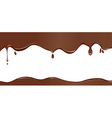 Chocolate drip vector